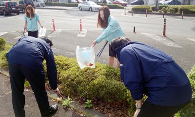 地域清掃活動